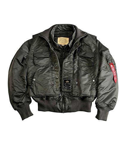 X Gris Jacket Force Industries Alpha axT6FF