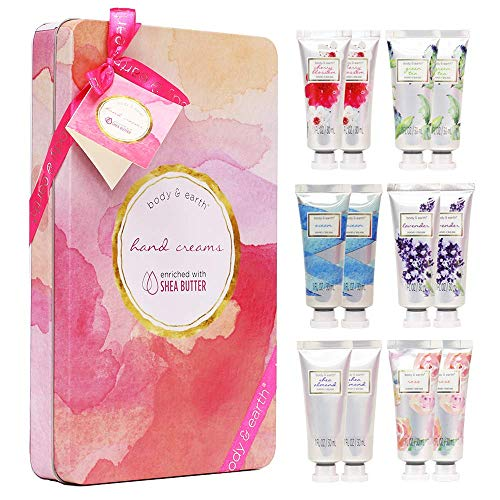 Hand Cream Gift Set, BODY & EARTH Hand Lotion for