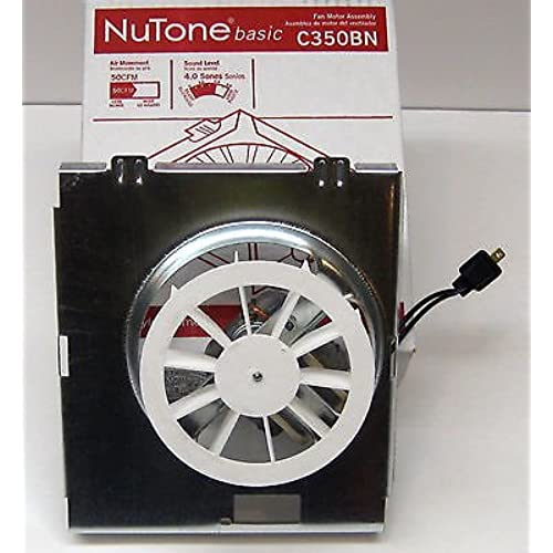 Nutone Model C350B Exhaust Fan Motor Assembly