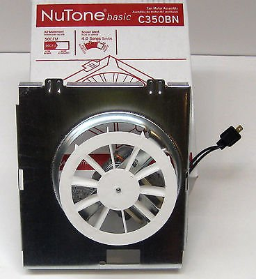 Nutone Model C350B Exhaust Fan Motor Assembly by Broan-NuTone