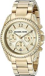 Micheal Kors Gold Runway Glitz Watch MK5166