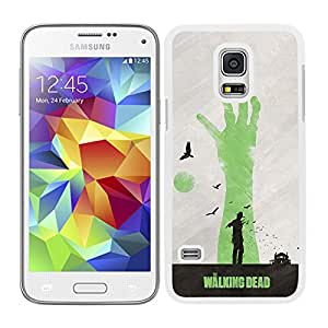 Funda carcasa para Samsung Galaxy S5 Mini diseño the walking dead 2 borde blanco