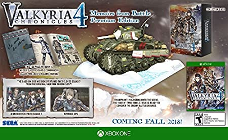 Valkyria Chronicles 4 - Xbox One Memoirs From Battle Edition