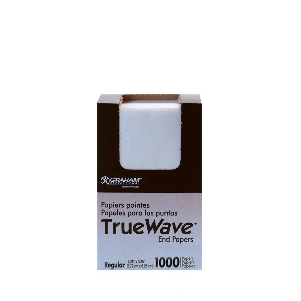 Graham Beauty Salon Truewave Regular End Paper 1000 Pack - HC-56174