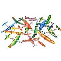 "Avión de planeador volador de 8 ""de Rhode Island Novelty | Conjunto de 12 |"