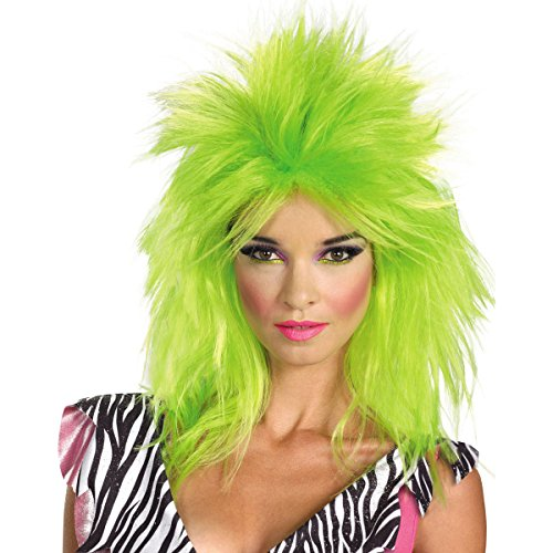 [Pizzazz Jem And The Holograms Adult Wig] (Jem And The Holograms Fancy Dress Costume)