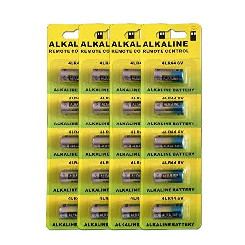 20pcs/4pack 4LR44 6V Dry Alkaline Battery Cells Car Remote Toys 28A 4AG13 544 L1325 4A76 Battery