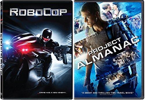 Project Almanac [DVD] & RoboCop 2014 Sci-Fi DVD Movie Set