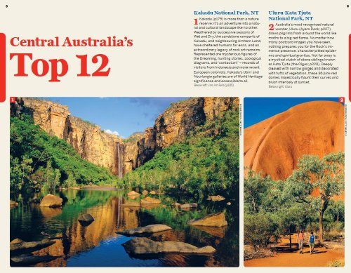 Lonely Planet Central Australia: Adelaide to Darwin