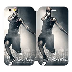 RAROFU Individuation Design James LeBron Custom Cover Case for iPhone6 Plus 5.5