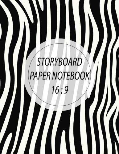 Storyboard Paper Notebook 16:9: Storyboard Paper Composition Notebook, 8.5