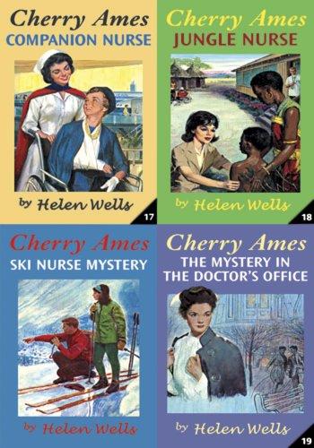 Helen Wells - Cherry Ames Boxed Set (Books 17-20): Companion Nurse, Jungle Nurse, The Mystery in the Doctor's Office & Ski Nurse Mystery