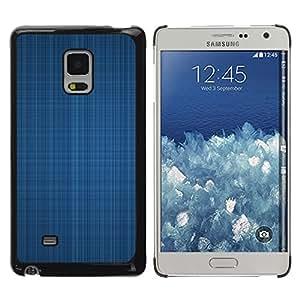 Be Good Phone Accessory // Dura Cáscara cubierta Protectora Caso Carcasa Funda de Protección para Samsung Galaxy Mega 5.8 9150 9152 // Blue fabric texture