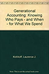 Generational Accounting Hardcover