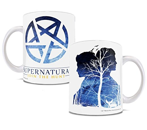 Supernatural - Pentagram - Sam and Dean Coffee Mug - By Trend Setters Ltd.