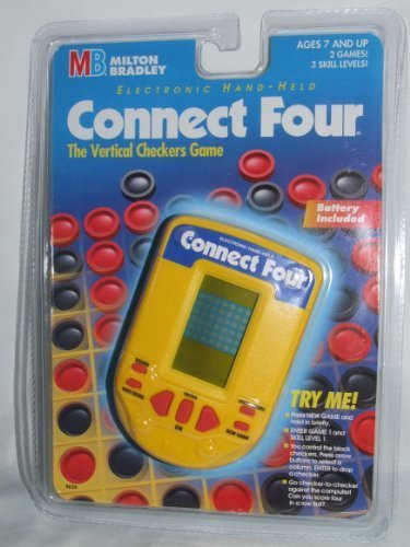 Connect Four Electronic Handheld Game (1995) - Electronic Connect Four