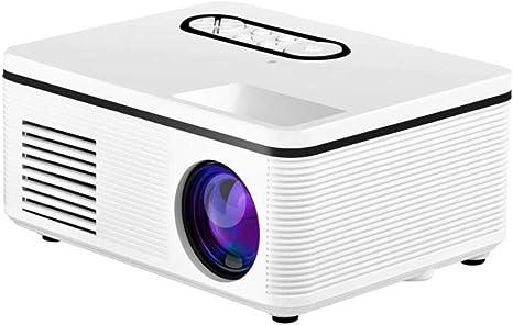 Opinión sobre QK Beamer, Mini Beamer Admite 1080P Full HD, 20000 Horas LED, Mini proyector para Juegos de Entretenimiento de películas