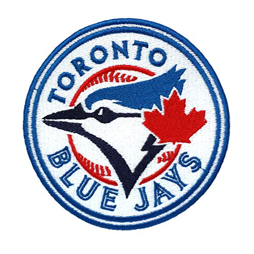 - InspireMe Family Owned Blue Jays Fully Embroidered Iron On Patch 3.75