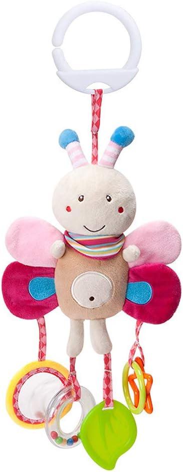 jingyuu juguetes bebé juguetes colgante en forma Animal de historieta Jou timbres eolios para bebé cochecito cama Home decoración 43 * 17cm abeja