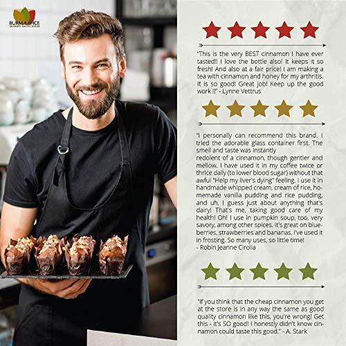 Ground Ceylon Cinnamon | Very freshly ground | Highest Premium Grade | 100% Pure with no additives | Kosher Certified (50oz) by Burma Spice (Image #6)