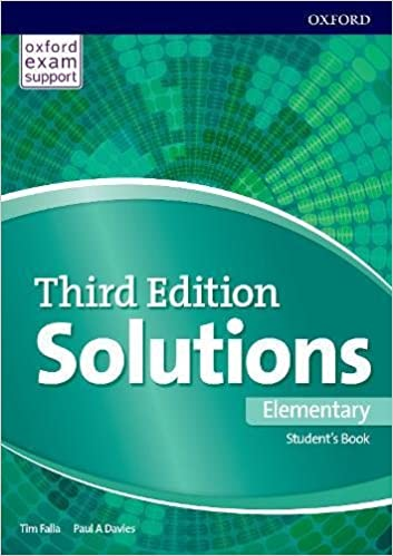 Solutions Elementary – Student's Book with Audio (3rd Edition)