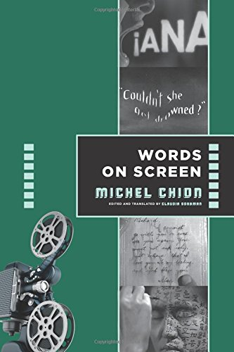 Words on Screen (Film and Culture Series)