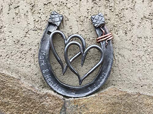 6th anniversary gift, iron anniversary, iron anniversary gift, iron gift, 6th anniversary gift for her,iron horseshoe,iron hearts,iron gifts