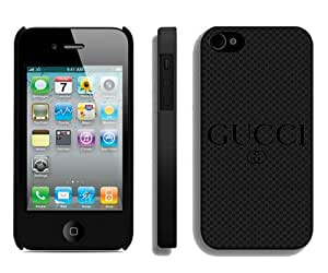 Fashionable And Unique Designed Case For iPhone 4 With Gucci 24 Black Phone Case
