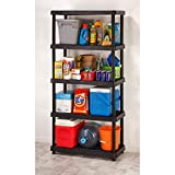 Keter Utility Plastic Freestanding Ventilated Shelving Unit