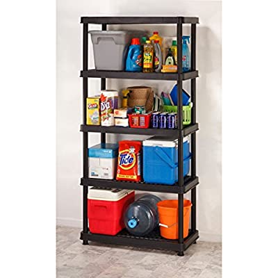 Keter Utility Plastic Freestanding Ventilated Shelving Unit