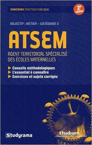 En ligne téléchargement gratuit ATSEM : Agent territorial spécialisé des écoles maternelles pdf, epub