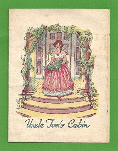 "Harriet Beecher Stowe""UNCLE TOM'S CABIN"" Harry Pollard/James B. Lowe/Mona Ray/Virginia Grey 1927 Movie Herald with Ticket Stub"