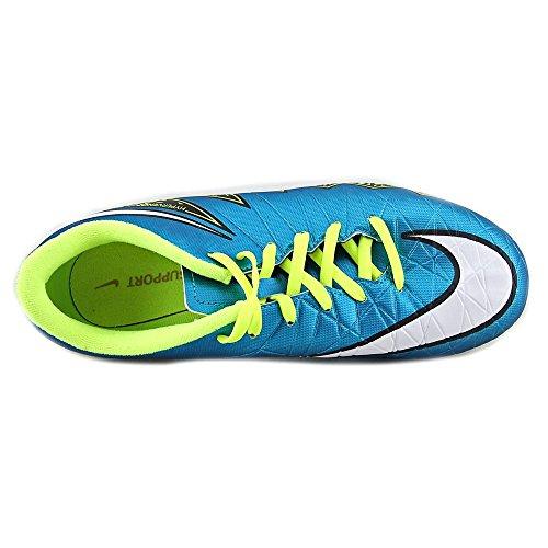Nike Jr. HYPERVENOM Phelon II FG terreno de fútbol zapato (Laguna azul, V)