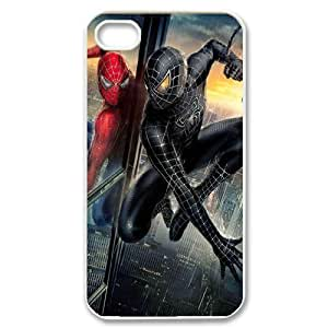 Spider-Man HILDA075319 Phone Back Case Customized Art Print Design Hard Shell Protection Iphone 4,4S