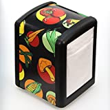 Farm Stand Veggies Napkin Dispenser Half Size Tabletop 4.75 x 5.75