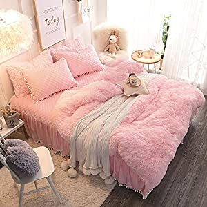 Wondo Faux Fur Throw Blankets Fuzzy Ultra Soft Cozy Fluffy Blanket Luxury Long Hair Home Decor & Shaggy Bed Throws for…