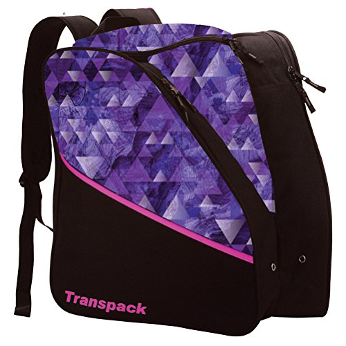 Edge Junior Ski Boots - Transpack Edge Junior Ski Boot Bag 2018 - Purple Topo