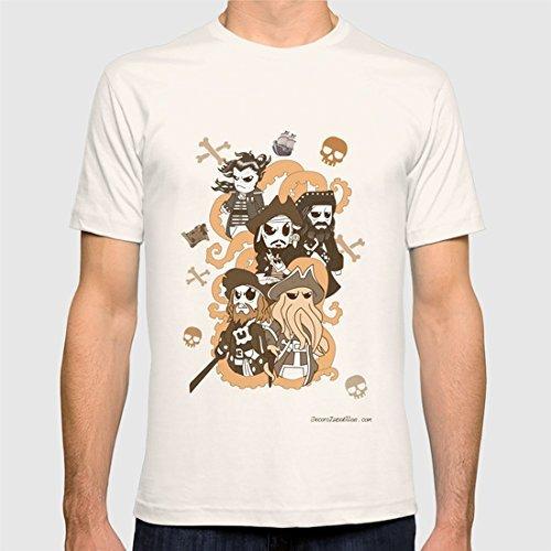 Piratas kawaii camisetas personalizadas diseño original - regalos el, regalos ella, cumpleaños, san