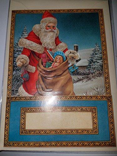 Glas Santa (Inge-Glas 3-D Victorian design card