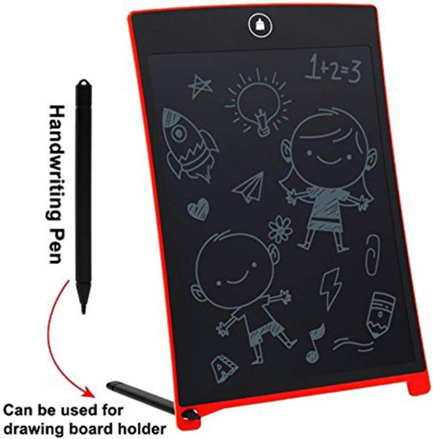 Black Mobestech LCD Writing Tablet Plastic 8.5 Inch Handwriting Bulletin Board Rewritten Pad Digital Notepad Screen Writing Tools for Kids Staff Teachers Students