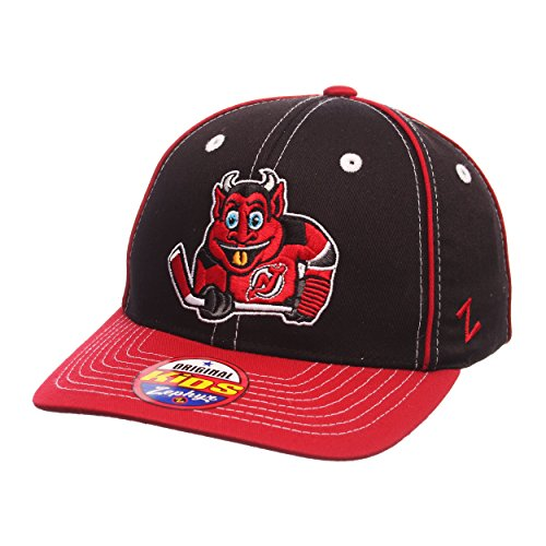 "New Jersey Devils YOUTH ""Mascot"" Adjustable Snapback Cap ..."