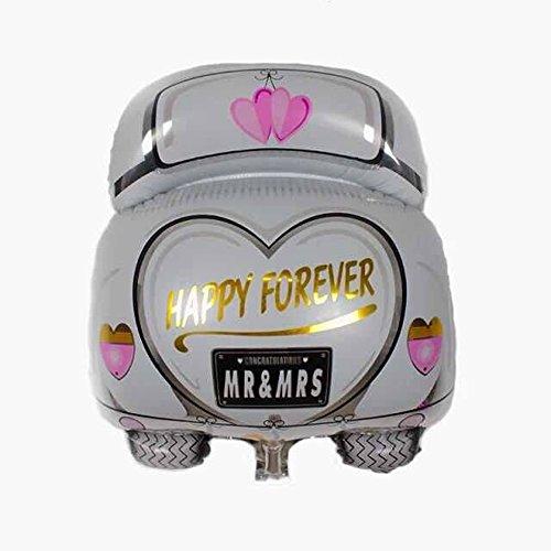 Wedding Balloons, Wedding Car Balloon for Romantic Wedding, Bridal Shower, Anniversary, Engagement Party Decor (Wedding car)