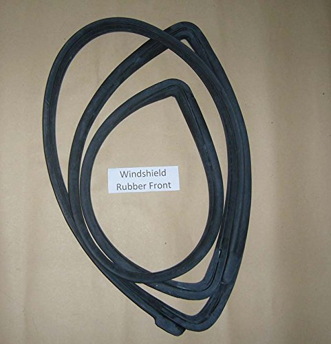 Motorstorex - Weatherstrip Front Windshield Seal Rubber for Datsun 620 Pickup Truck UTE - 72610-B5003 -