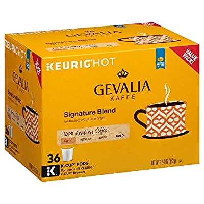 Gevalia, Signature Blend Coffee K-Cup Pods, 36 Count