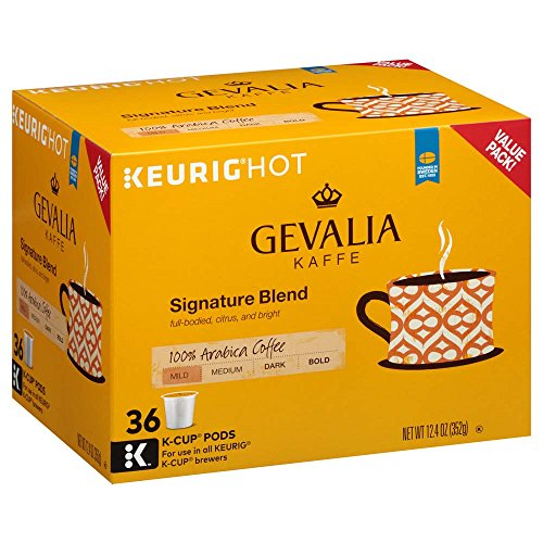Gevalia, Signature Blend Coffee K-Cup Pods, 36 Count ()