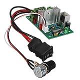 PWM DC Motor Speed Switch Controller Control Reversible Regulator .