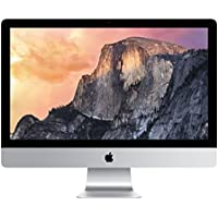 Apple iMac 27 Desktop with Retina 5K display - 3.2GHz Intelquad-core Intel Core i5, 256GB Pcle-based Storage, 32GB 1867MHz DDR3 SDRAM, R9 M380 2GB GDDR5, OS X El Capitan, (NEWEST VERSION)