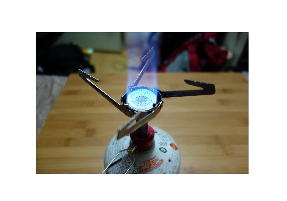 Ultraligero de Nano hornillo de gas para camping y trekking ...