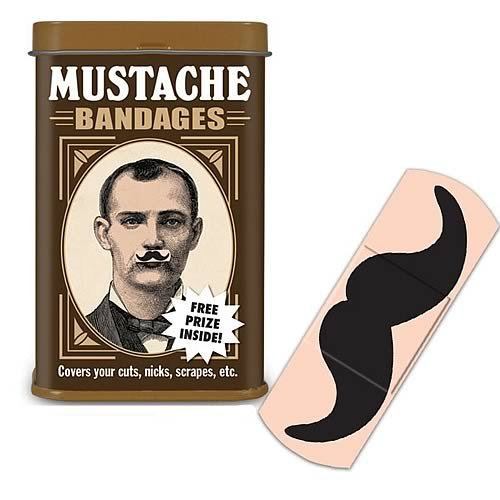 Accoutrements Mustache Bandages   15 Large Sterile Strips
