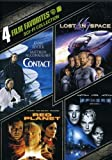 4 Film Favorites: Sci-Fi (4FF)Contact, Lost in Space (1998), Sphere and Red Planet CONTACT INCLUDES: • 3 Commentaries: 1) Jodie Foster, 2) Robert Zemeckis and Steve Starkey, and 3) Ken Ralston and Stephen Rosenbaum • 4 Special Effects Featurettes • T...